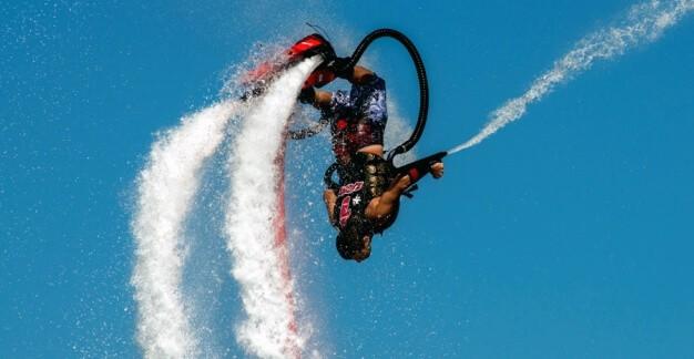 Flyboarding - náhled